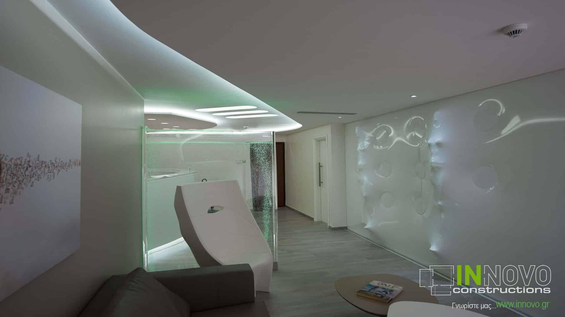 Μελέτη διακόσμησης Ιατρείου Πλαστικής Χειρουργικής στην Τρίπολη