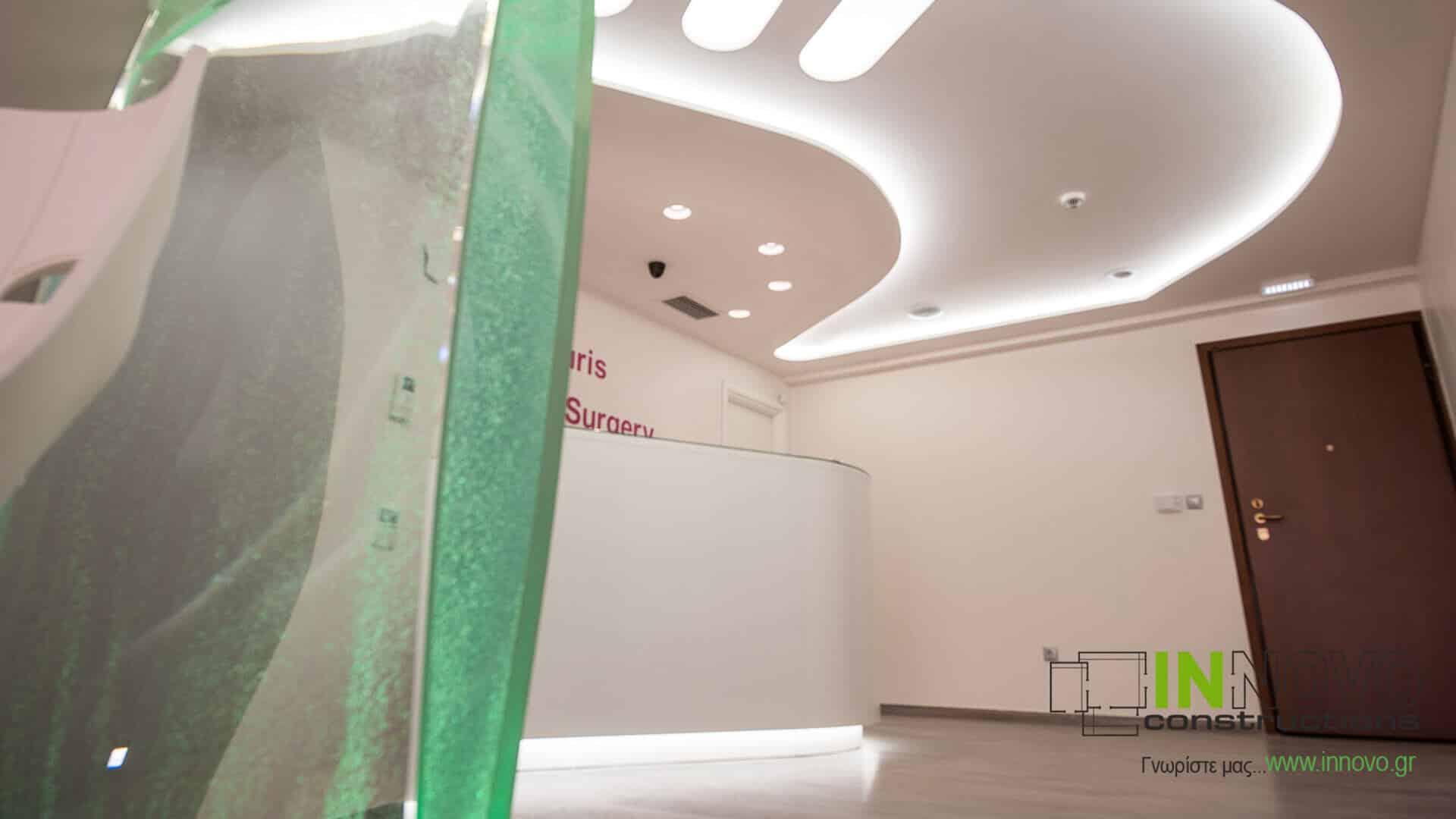 Ανακαίνιση διακόσμηση Ιατρείου Πλαστικής Χειρουργικής στην Τρίπολη