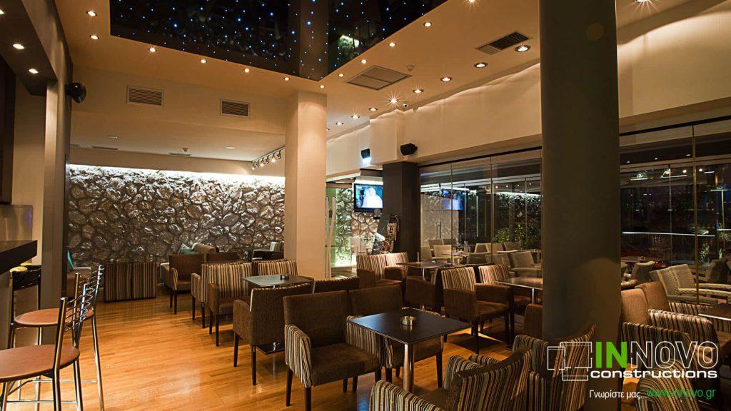 Ανακαίνιση καφετέριας – μπαρ στην Ηλιούπολη