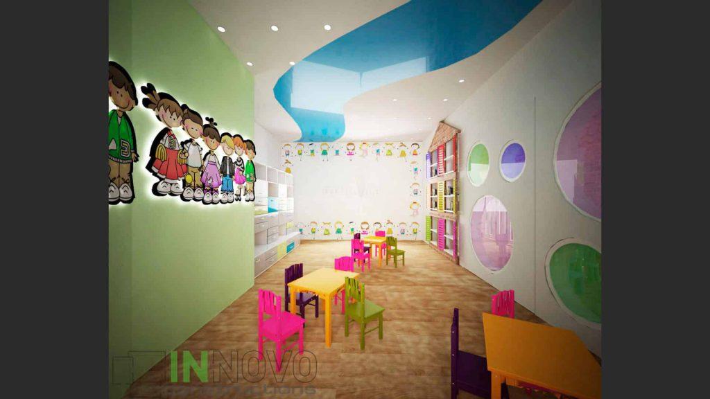 Ανακαίνιση παιδικού σταθμού στη Γλυφάδα