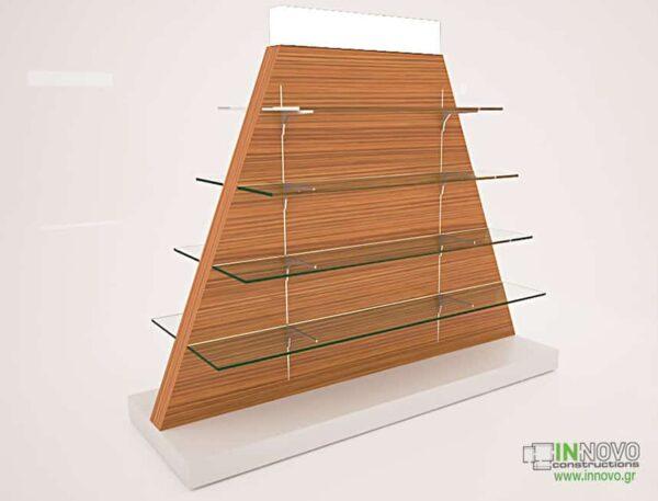 4064 Γόνδολα φαρμακείου G-Vrimi wood