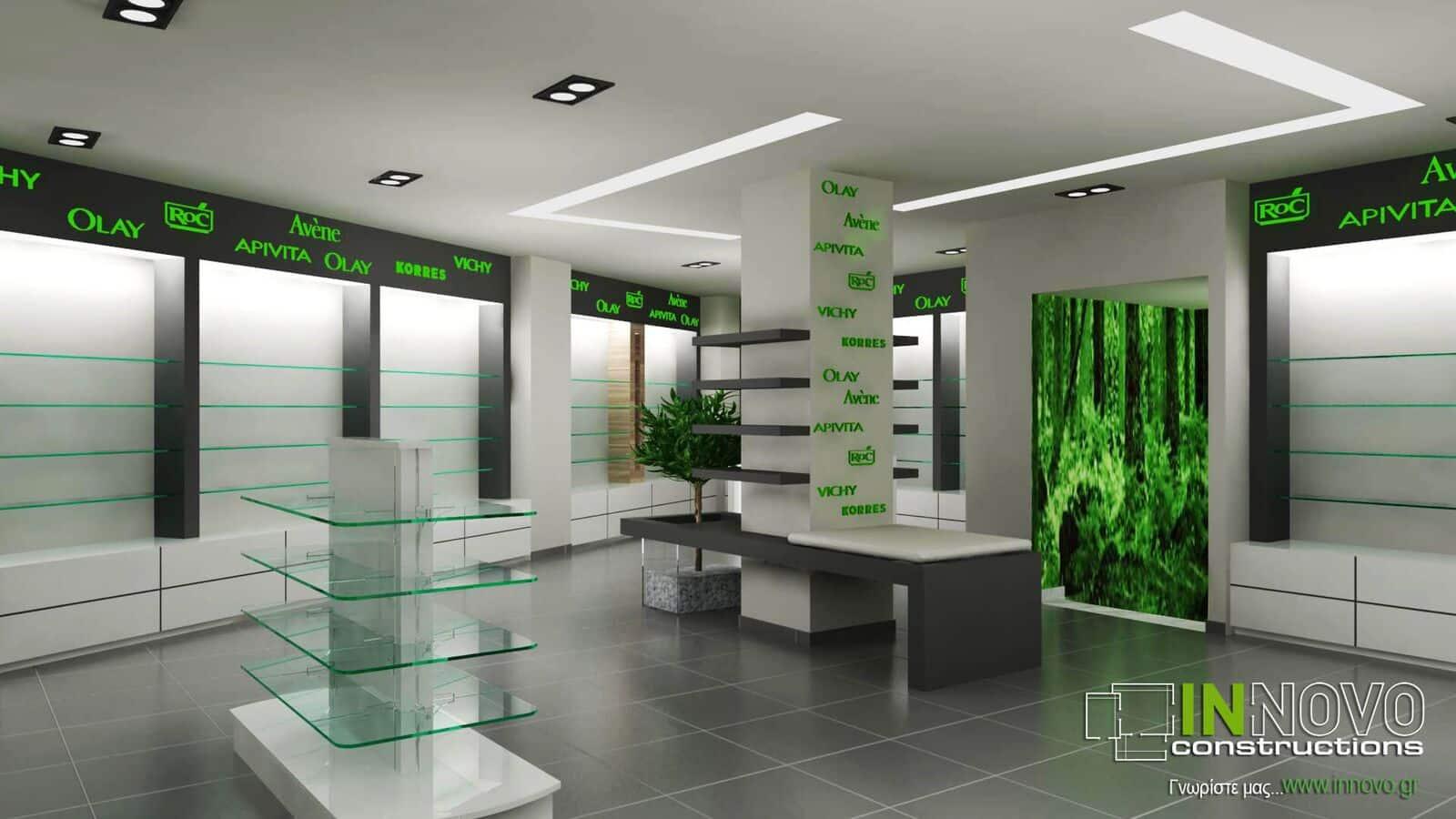 Ανακαίνιση Φαρμακείου στο Χαλάνδρι