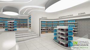 Μελέτη σχεδιασμού φαρμακείου στην Ελευσίνα από την Constructions