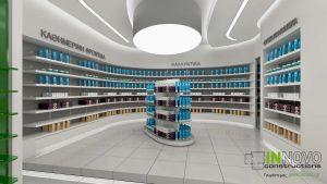 Μελέτη διακόσμησης φαρμακείου στην Ελευσίνα από την Constructions