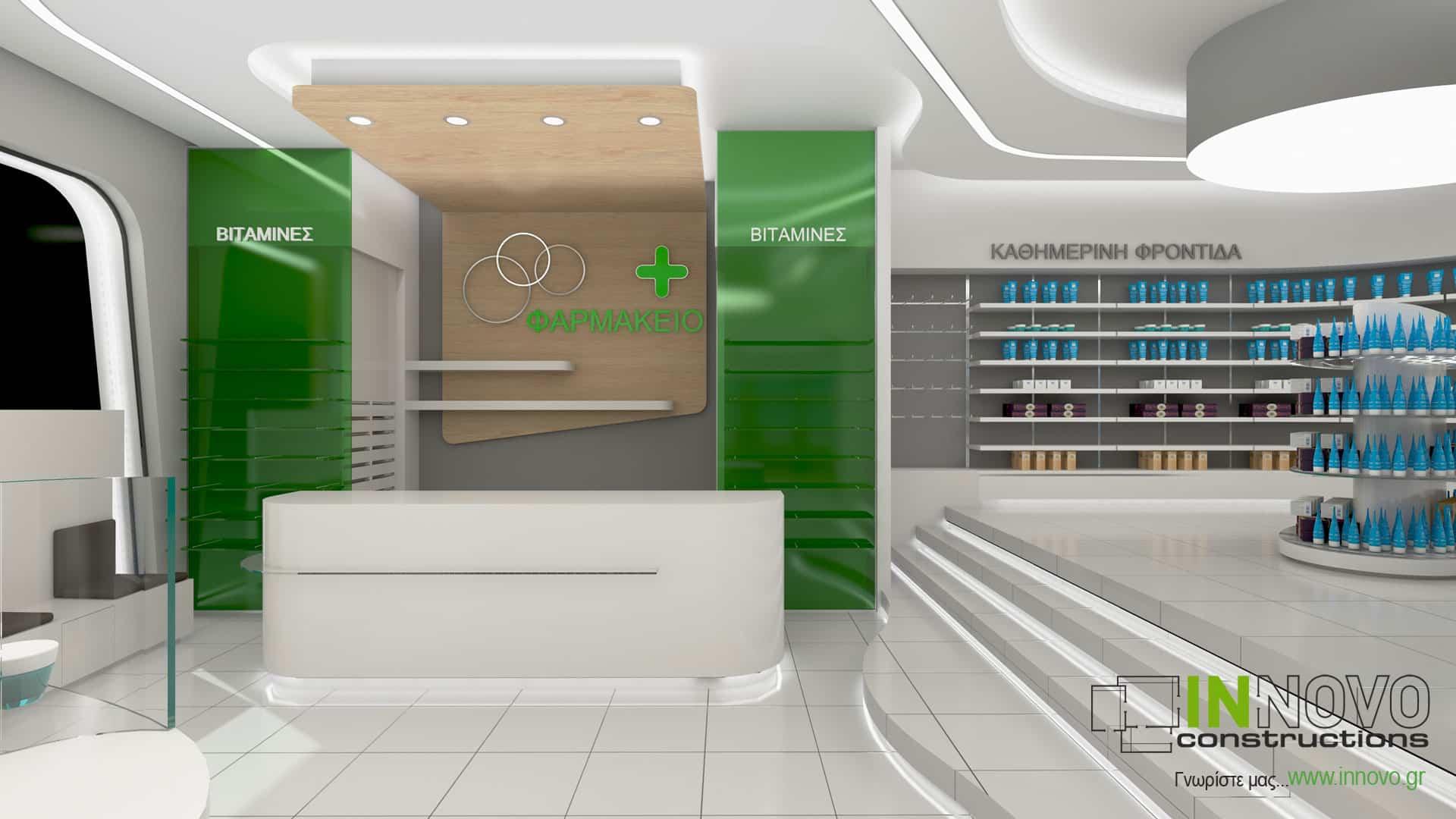 Σχεδιασμός φαρμακείου στην Ελευσίνα