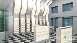 Από την Constructions, σχεδιασμός κατασκευής φαρμακείου στον Πειραιά