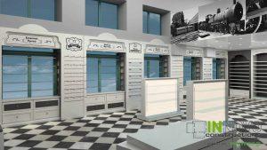 Από την Constructions, σχεδιασμός διακόσμησης φαρμακείου στον Πειραιά