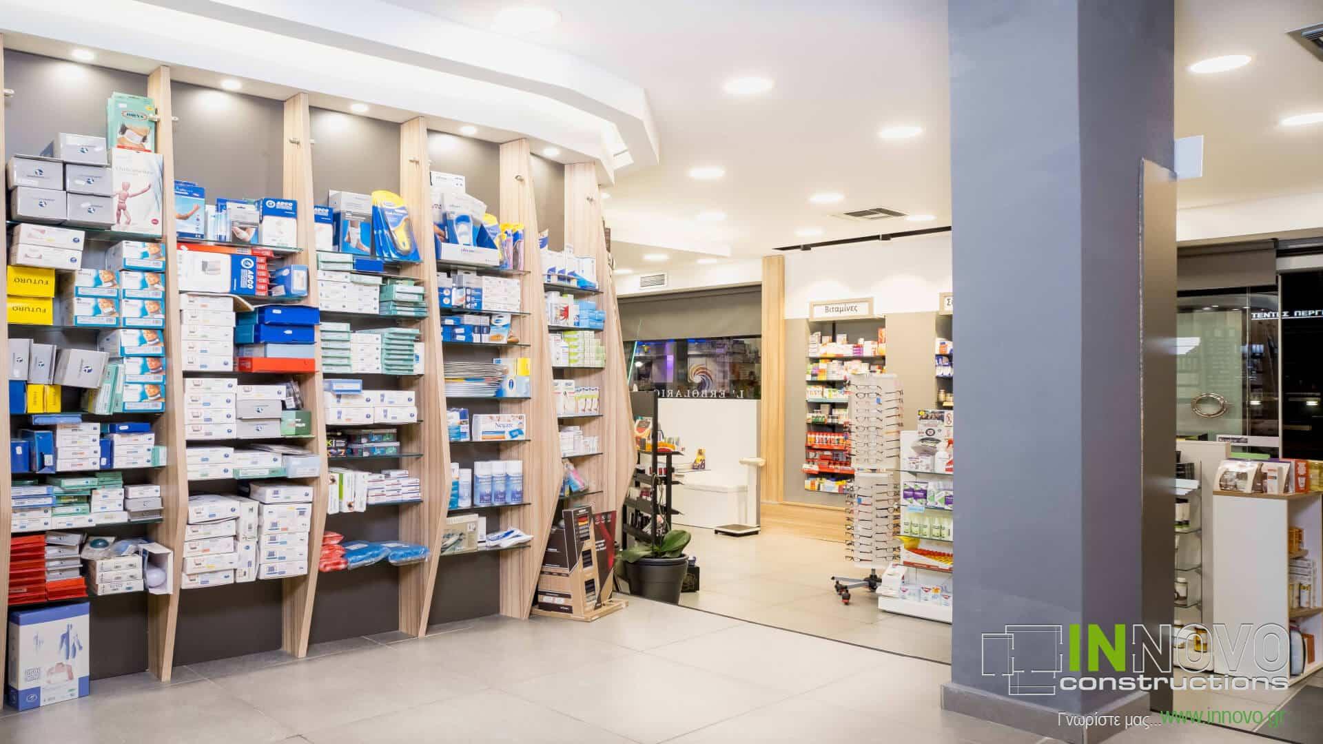 Στο Περιστέρι, σχεδιασμός εξοπλισμού φαρμακείου
