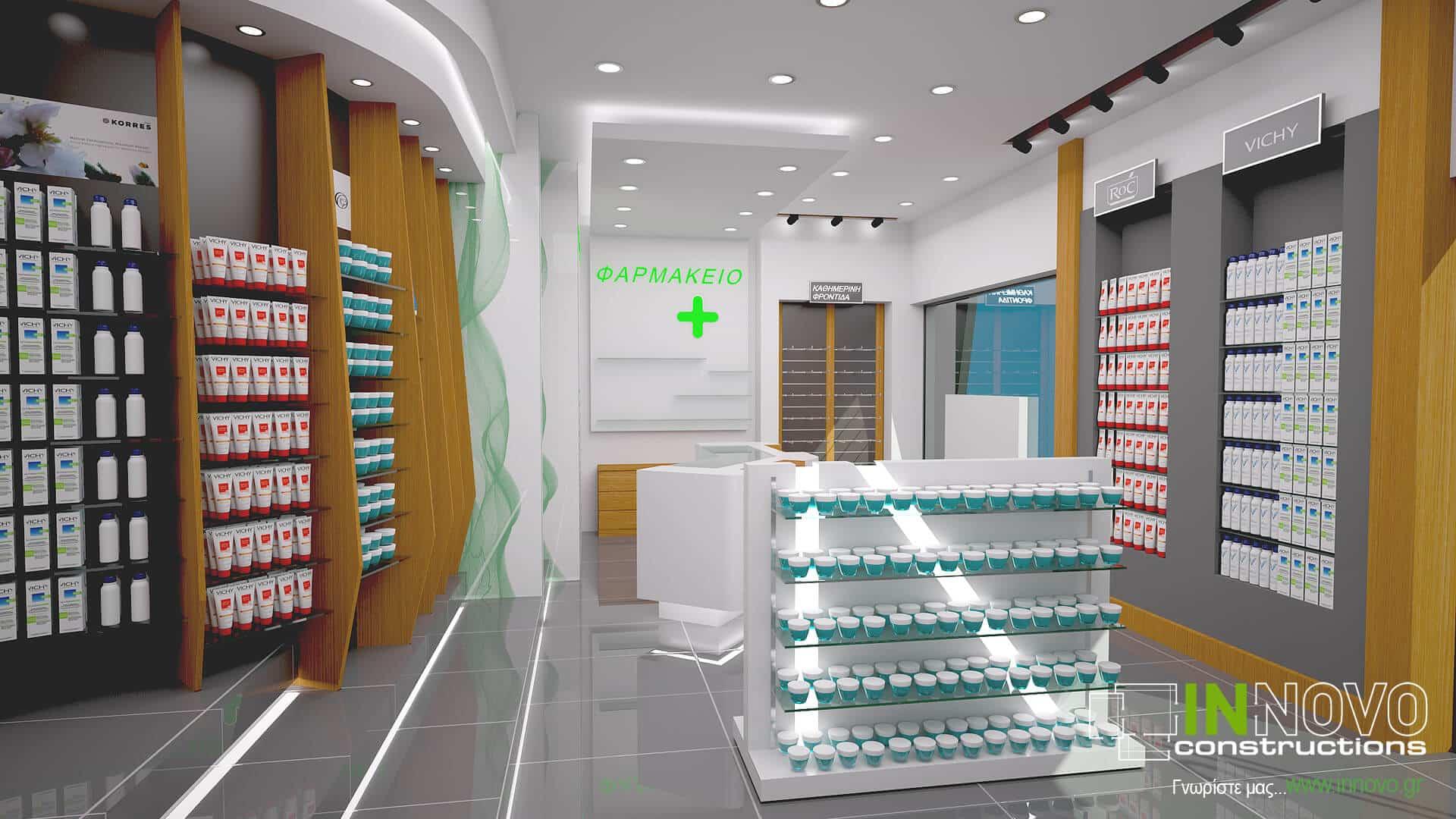 Στο Περιστέρι, σχεδιασμός φαρμακείου