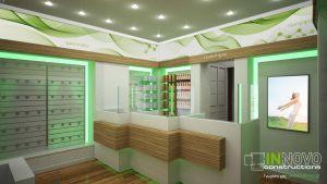 κατασκευή-φαρμακείου-kataskevi-farmakeiou-pharmacy-construction-reception