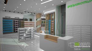 σχεδιασμός-φαρμακείου-sxediasmos-farmakeiou-pharmacy-design-peristeri