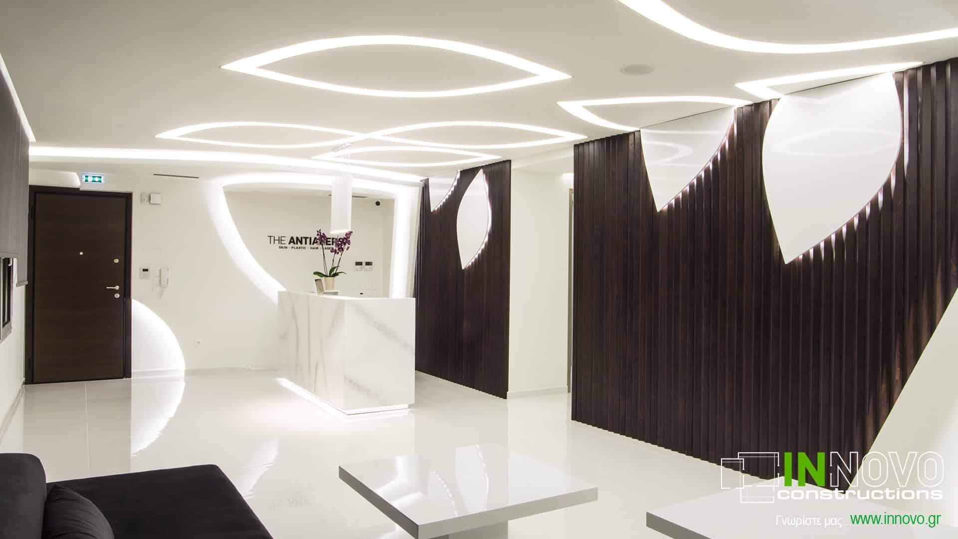 Από την Innovo κατασκευή εξοπλισμού Ιατρείου Πλαστικής