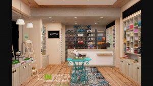 Σχεδιασμός χώρου και διακόσμηση φαρμακείου Καλλιθέα