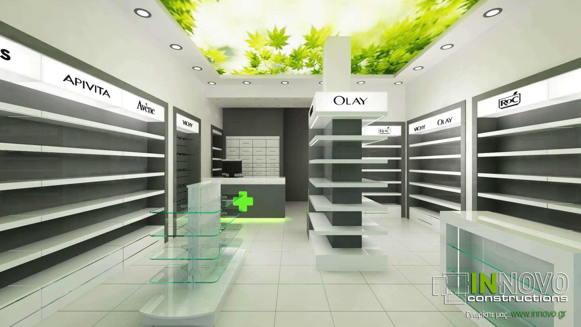 Σχεδιασμός χώρου φαρμακείου στα Άνω Πατήσια