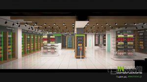 Σχεδιασμός φαρμακείου στο Καλαμάκι από την Innovo Constructions