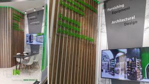 Σχεδιασμός χώρου και ανακαίνιση περιπτέρου Expopharm