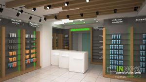 kataskevi-farmakeiou-ag.dimitrios-pharmacy-construction-equipment-reception-desk