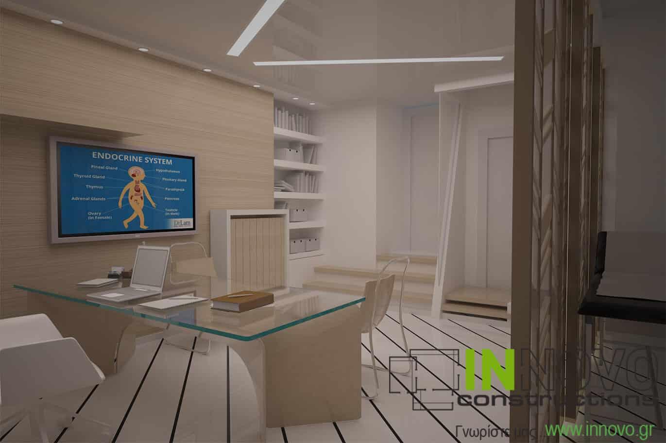 Σχεδιασμός εξοπλισμού Ενδοκρινολογικού ιατρείου στη Ναύπακτο