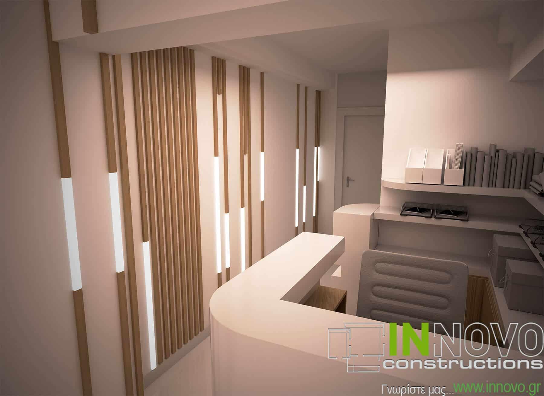 Σχεδιασμός διακόσμησης Ενδοκρινολογικού ιατρείου στη Ναύπακτο