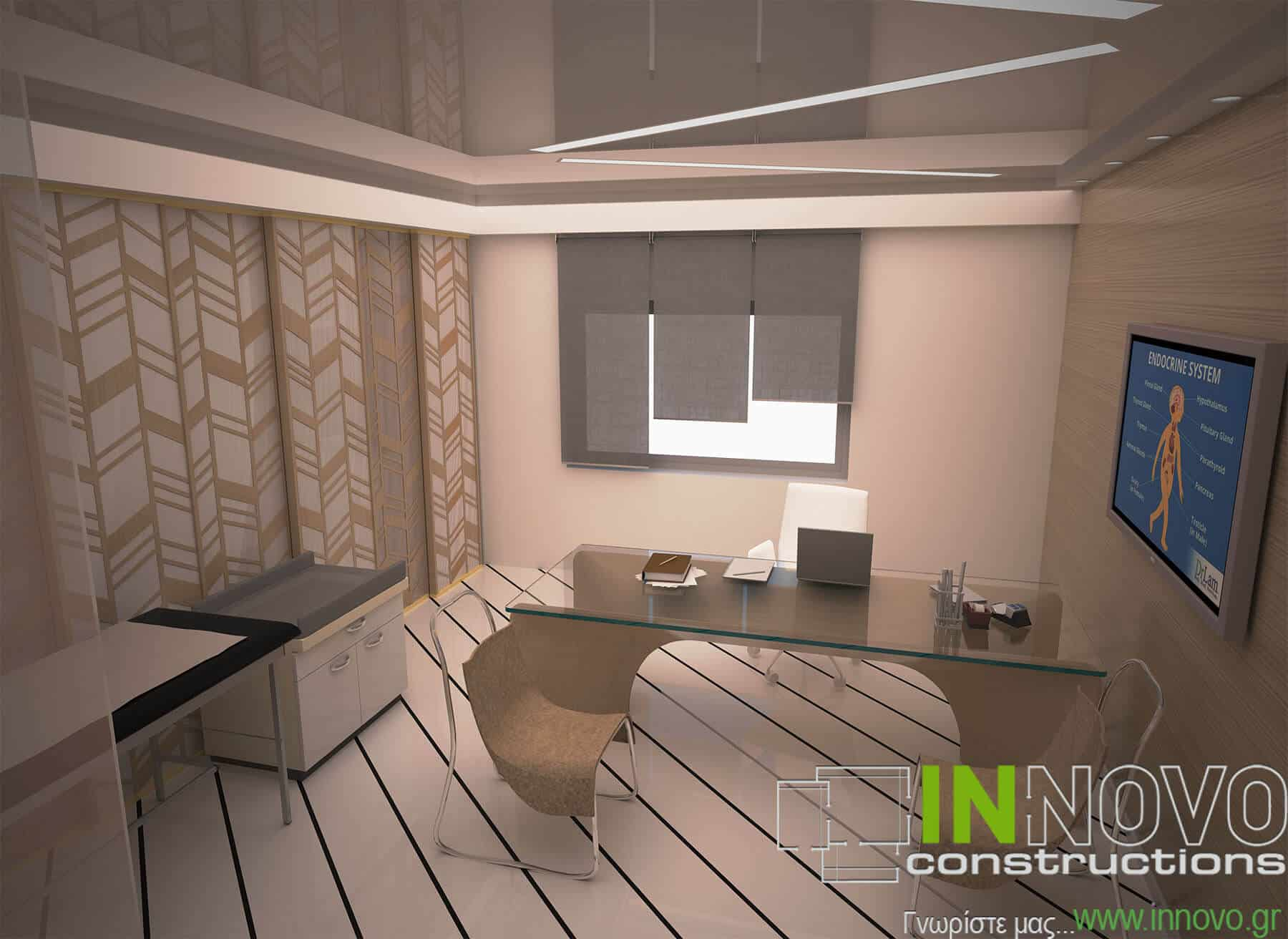Σχεδιασμός Ενδοκρινολογικού ιατρείου στη Ναύπακτο