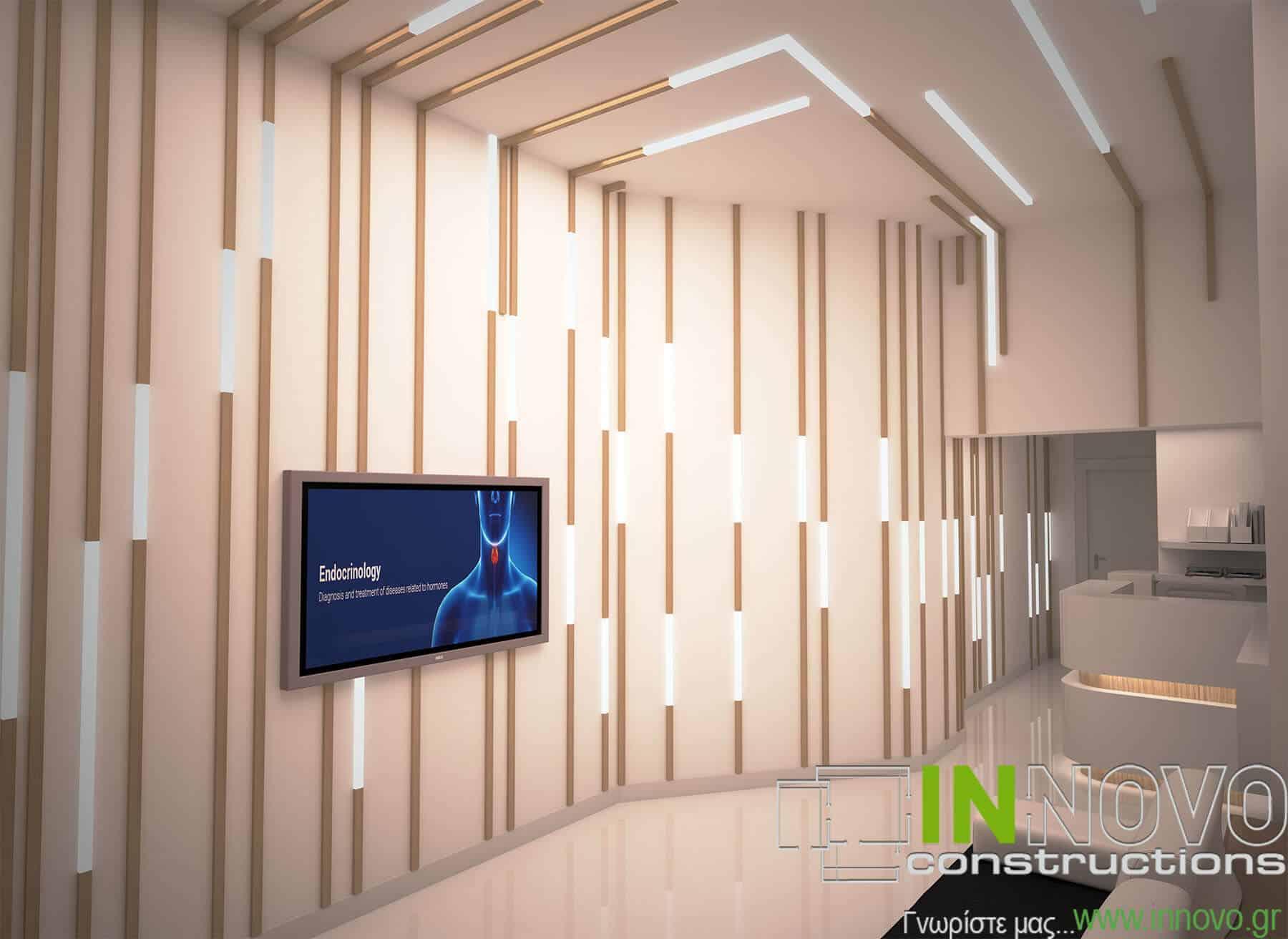 Σχεδιασμός κατασκευής Ενδοκρινολογικού ιατρείου στη Ναύπακτο