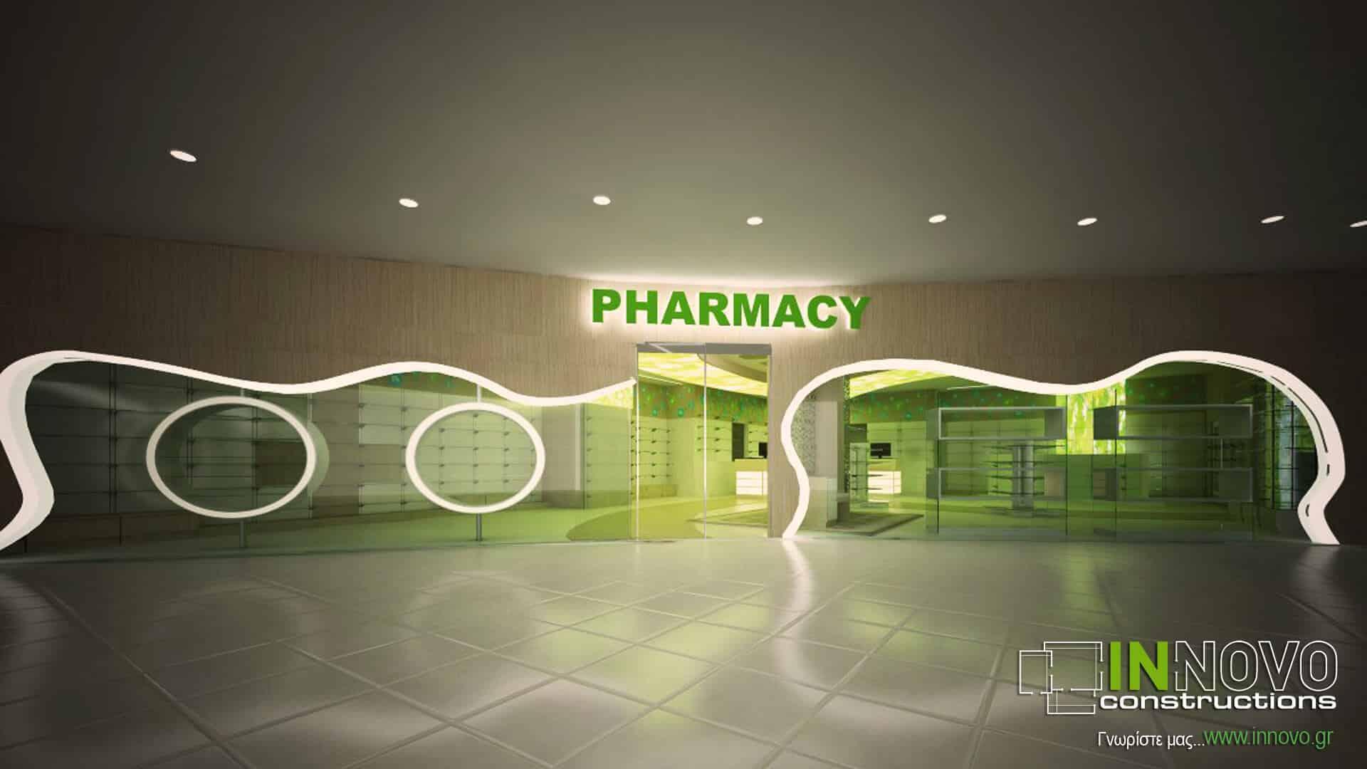 Μελέτη ανακαίνισης φαρμακείου στο Κατάρ από την Innovo