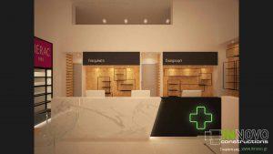 Μελέτη ανακαίνισης και διακόσμησης βιολογικού φαρμακείου