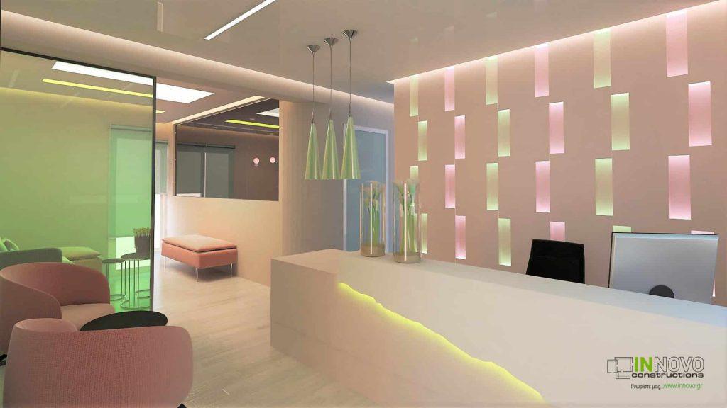 Σχεδιασμός γυναικολογικού ιατρείου Ηλιούπολη
