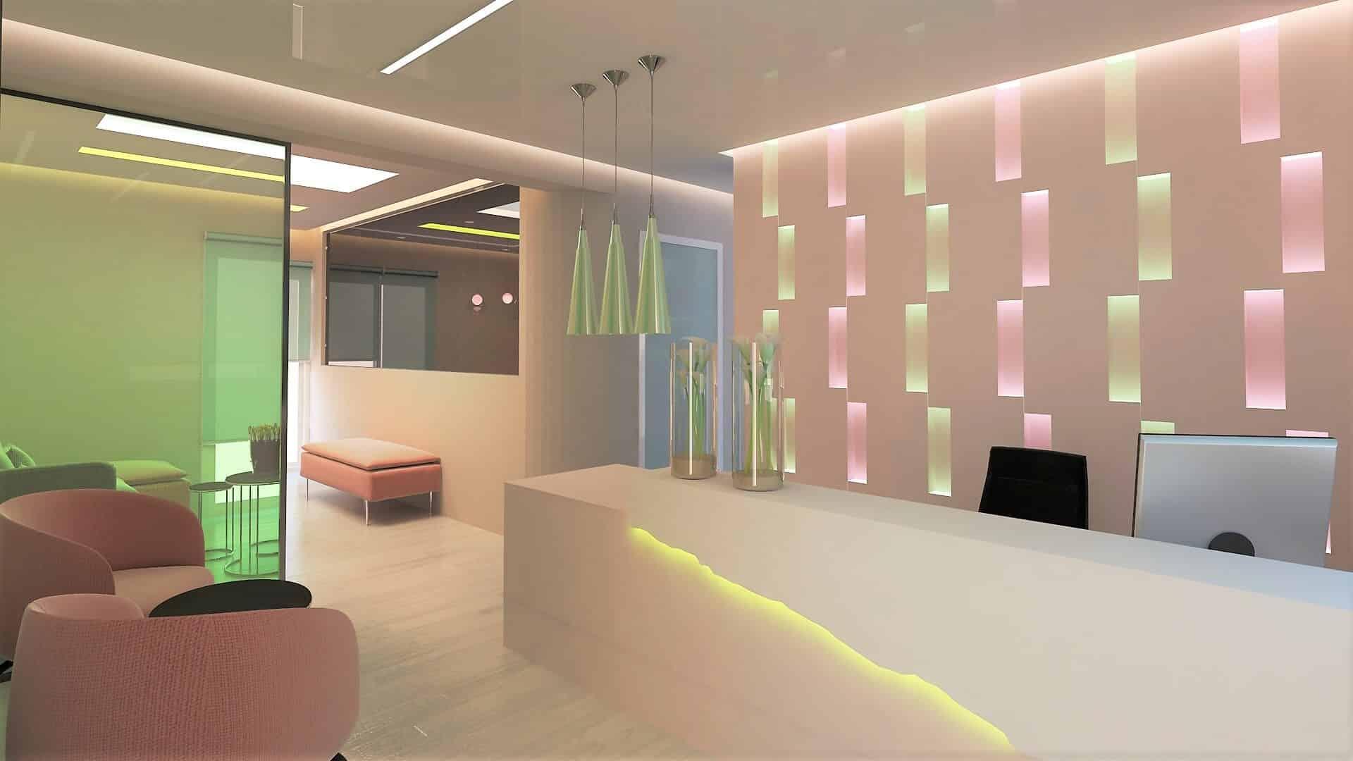 Σχεδιασμός γυναικολογικού ιατρείου στην Ηλιούπολη