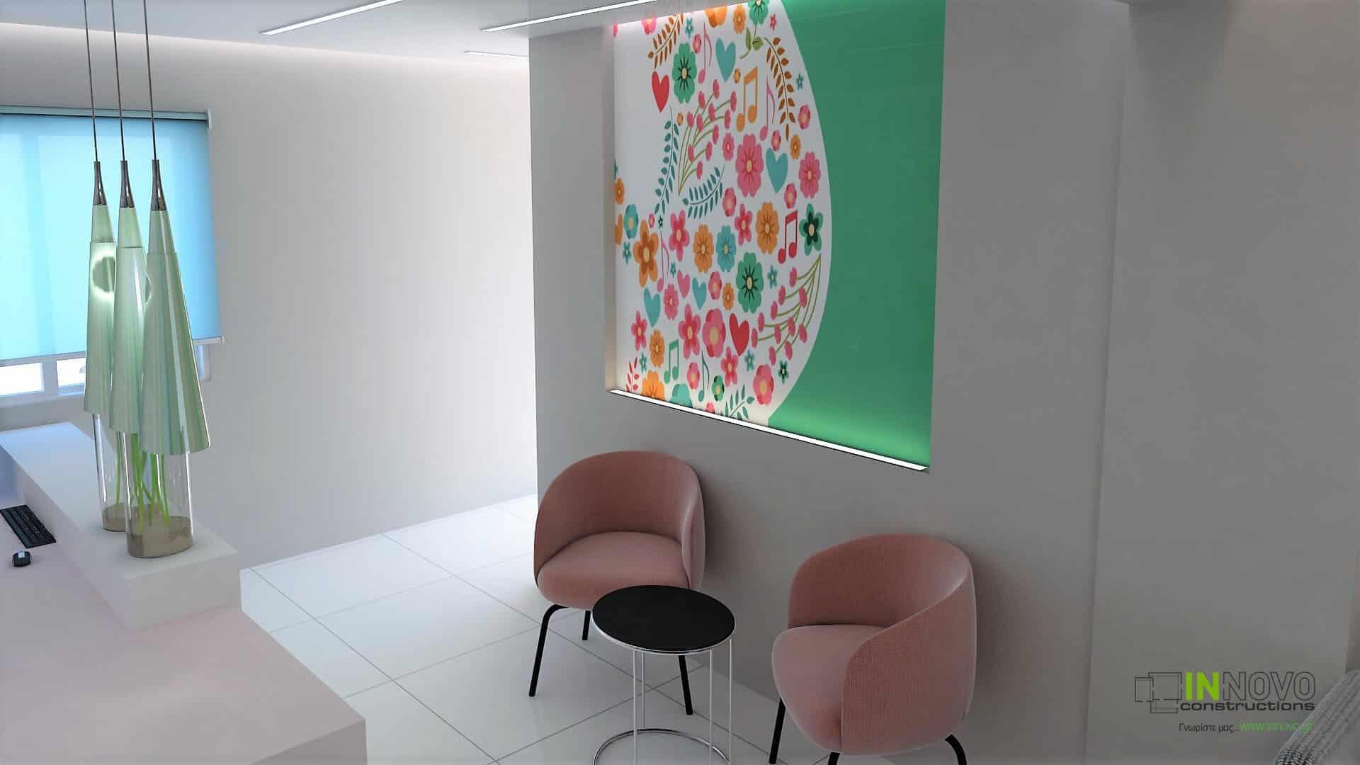 Σχεδιασμός διακόσμησης γυναικολογικού ιατρείου