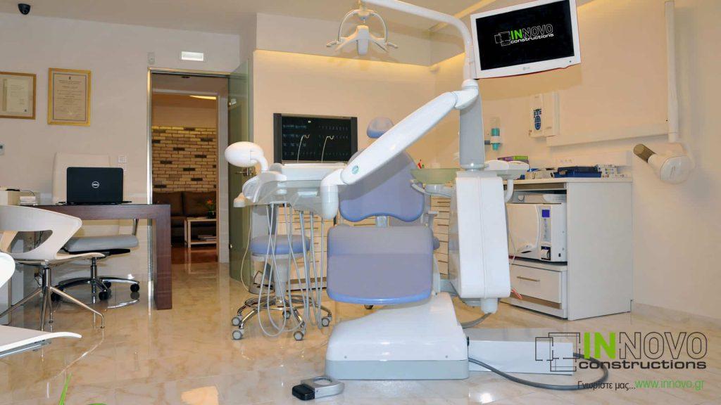 Σχεδιασμός οδοντιατρείου Παλαιό Φάληρο