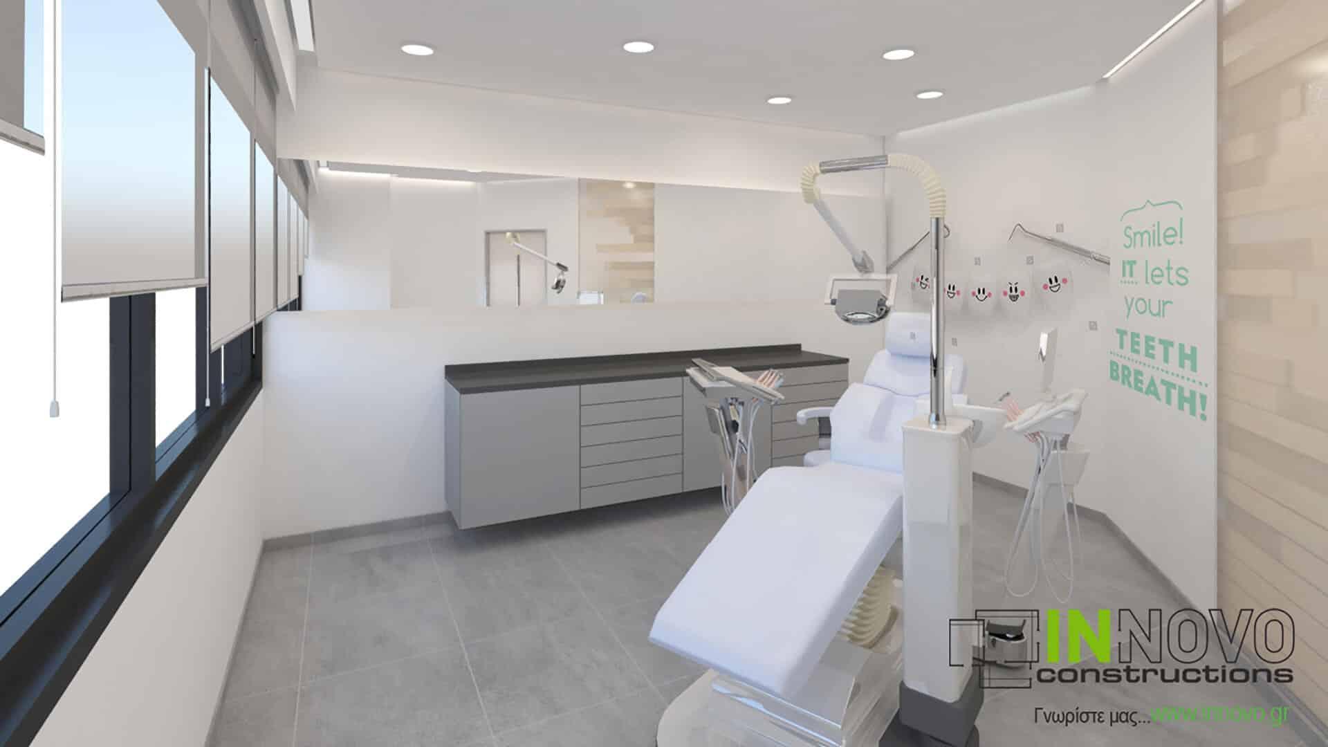 Μελέτη εξοπλισμού οδοντιατρείου στο Παλαιό Φάληρο