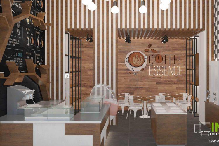 Μελέτη ανακαίνισης Café στο Παγκράτι