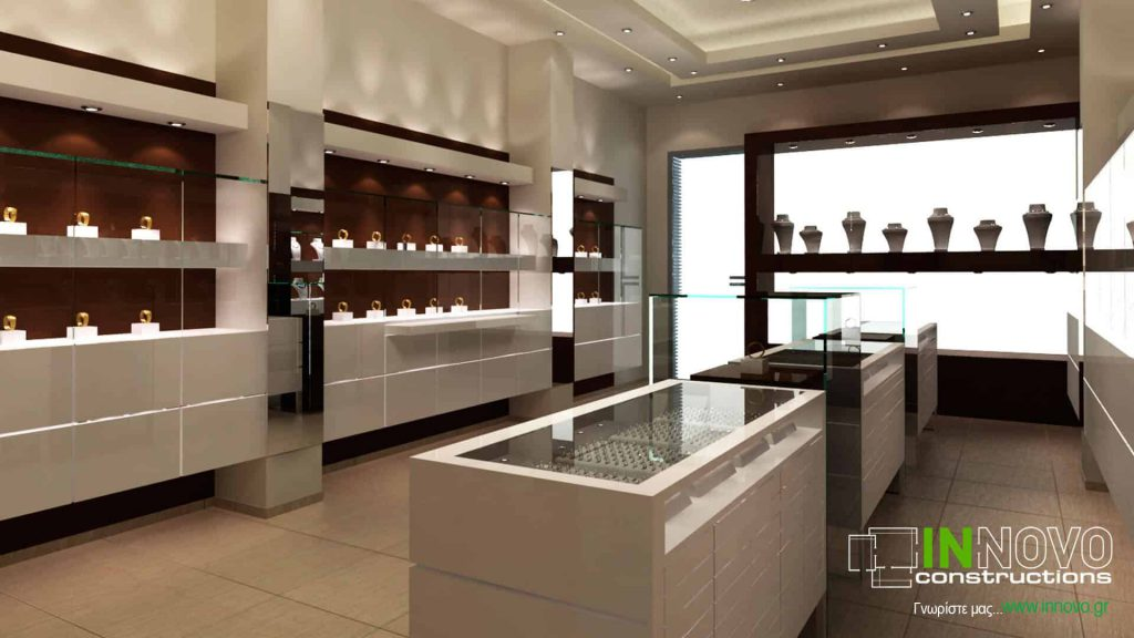 Σχεδιασμός κοσμηματοπωλείου στη Λευκάδα