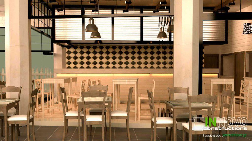 Μελέτη εστιατορίου στην Αρτέμιδα