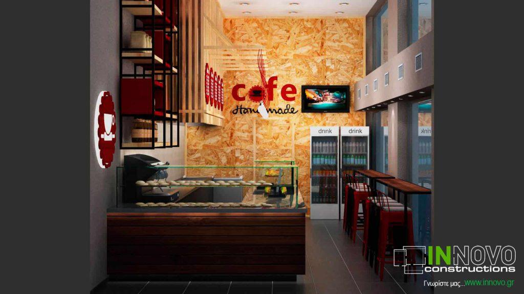 Μελέτη ανακαίνισης Café στα Μελίσσια