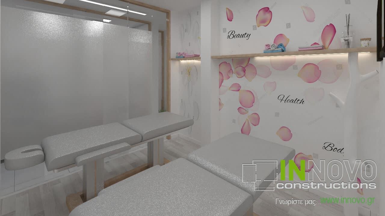 Μελέτη κατασκευής φυσικοθεραπευτηρίου στο Περιστέρι