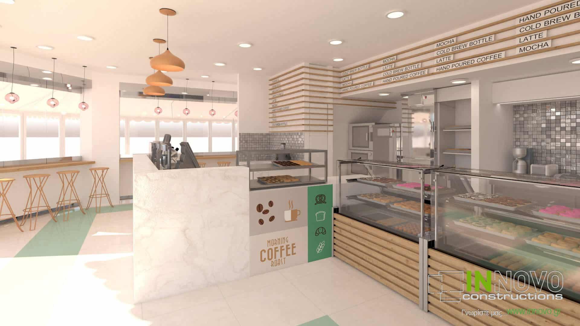 Μελέτη και ανακαίνιση σνακ – καφέ