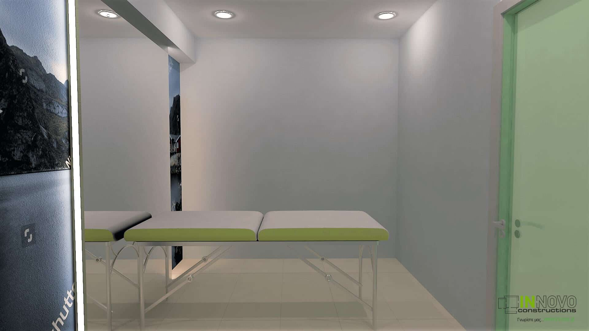 Κατασκευή φυσικοθεραπευτηρίου στο Πικέρμι