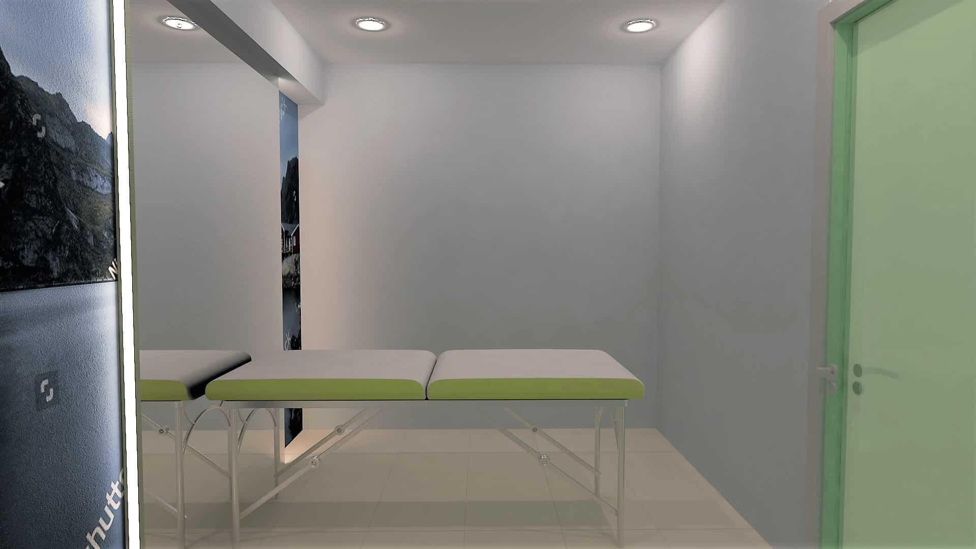 Μελέτη διακόσμησης φυσικοθεραπευτηρίου στο Πικέρμι