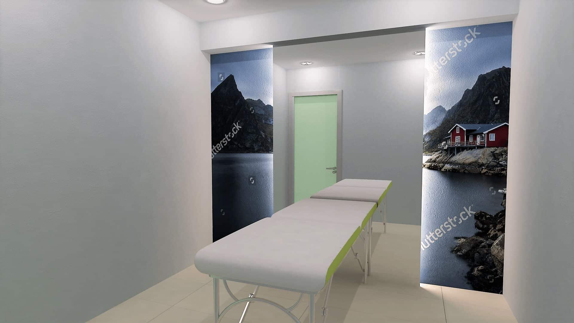 Σχεδιασμός εξοπλισμού φυσικοθεραπευτηρίου στο Πικέρμι