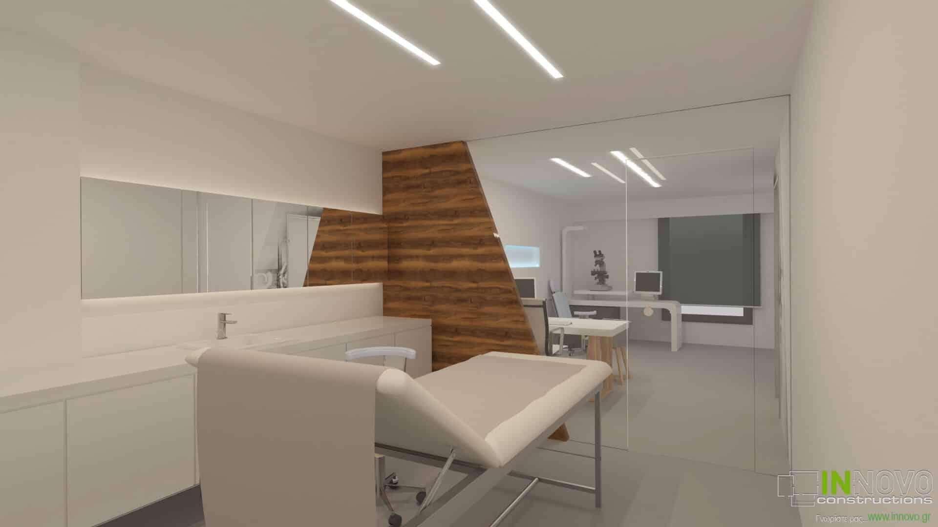Κατασκευή οφθαλμολογικής κλινικής στη Γλυφάδα