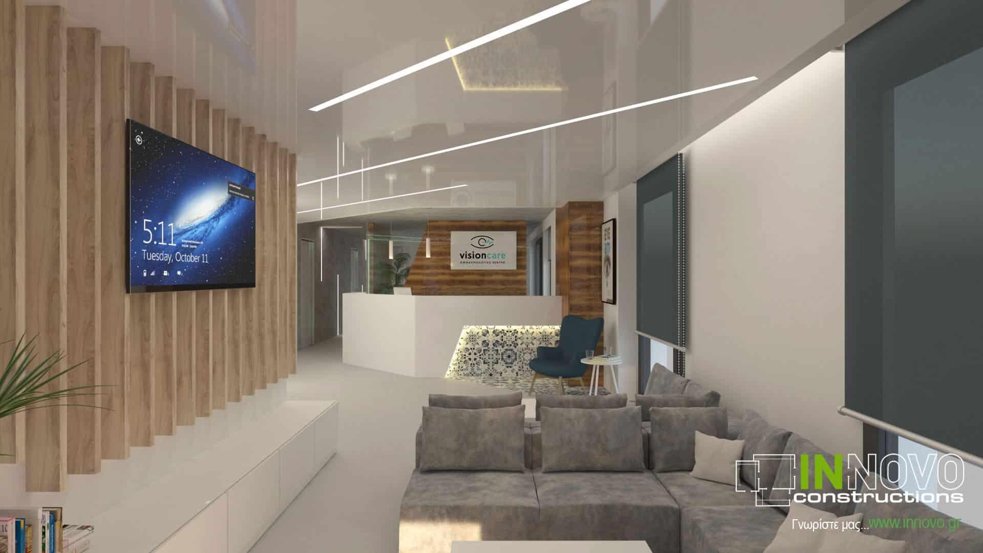 Σχεδιασμός κατασκευής οφθαλμολογικής κλινικής στη Γλυφάδα