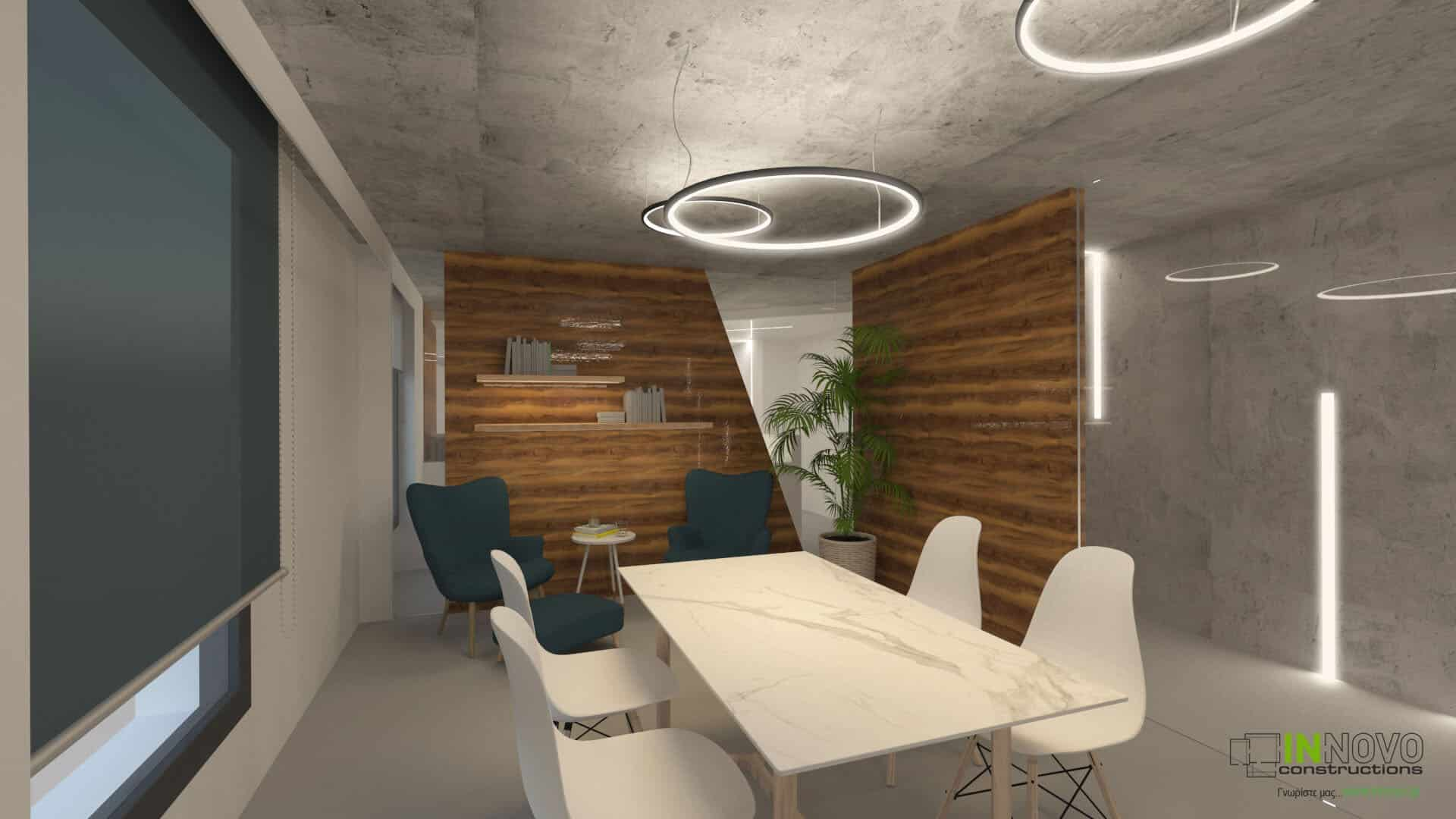 κατασκευη ιατρειου meeting room