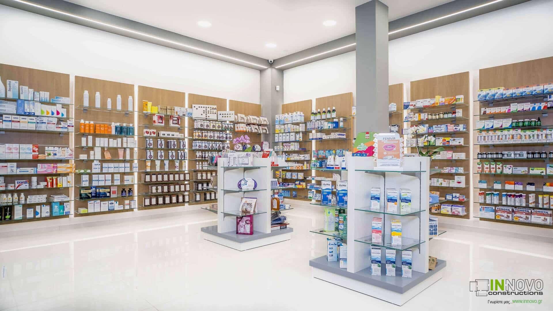 Μελέτη κατασκευής Φαρμακείου στην Ηλιούπολη