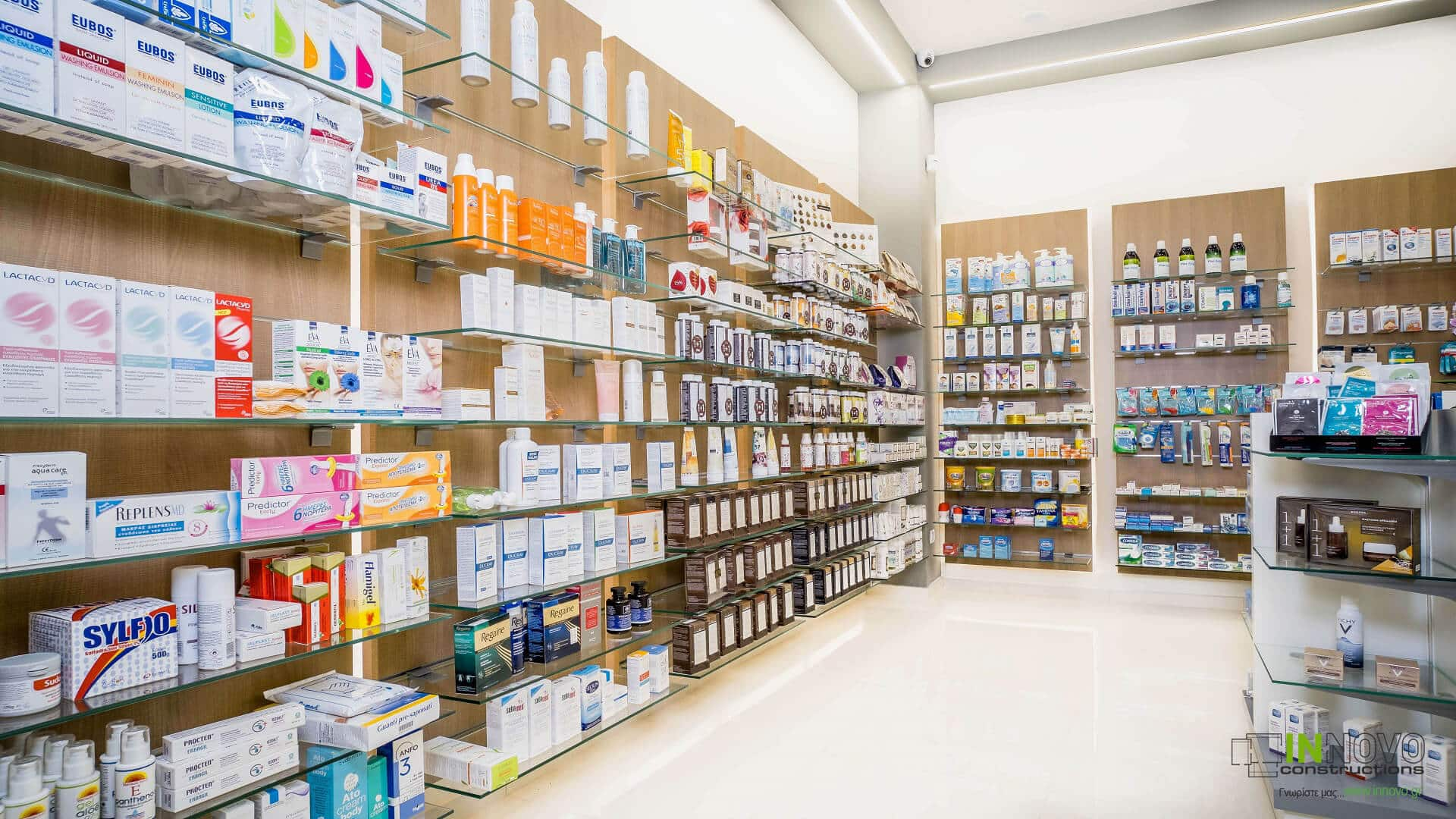 Σχεδιασμός μελέτης Φαρμακείου στην Ηλιούπολη