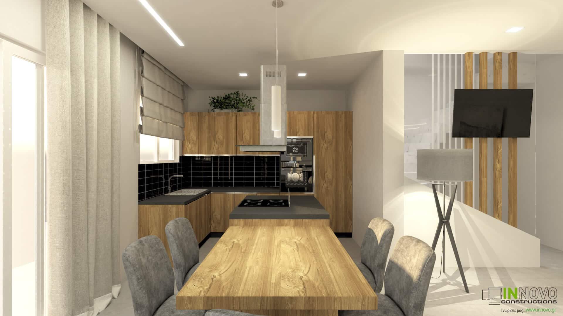 Σχεδιασμός ανακαίνισης κατοικίας στον Υμηττό