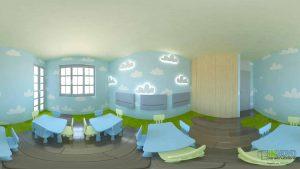 Ανακαίνιση διακόσμησης παιδικού σταθμού, Άλιμος