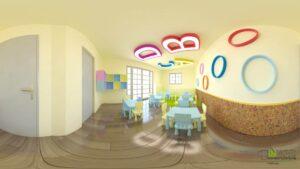Σχεδιασμός παιδικού σταθμού, Άλιμος