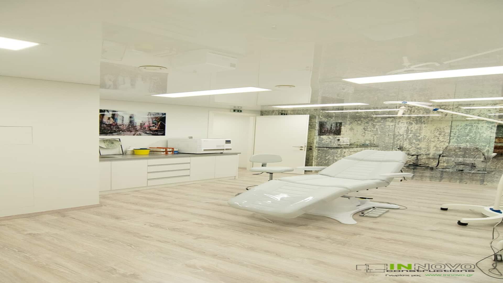 Σχεδιασμός κατασκευής ιατρείου πλαστικού χειρουργού στο Μαρούσι